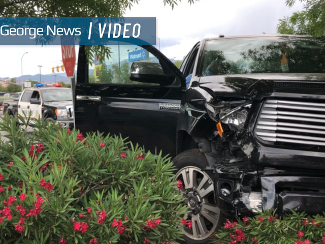 Two transported to hospital after accident at Walmart parking lot