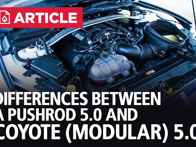 Differences Between A Pushrod And Coyote 5.0