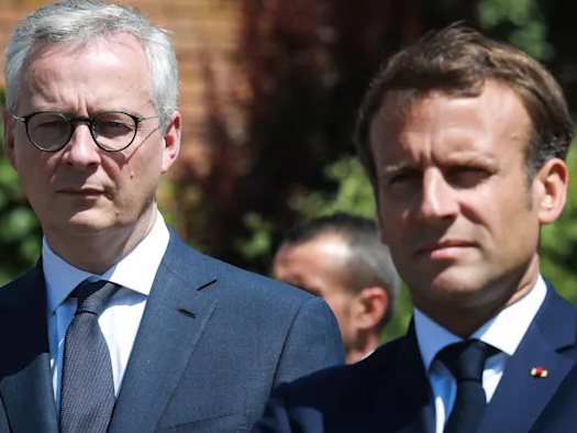 French Finance Minister Issues Declaration Of Independence... From the US