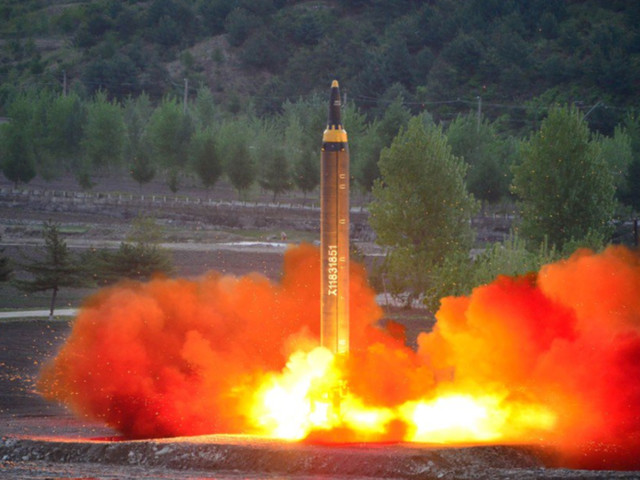 North Korea launches ballistic missile from submarine, payload lands in waters off Japan