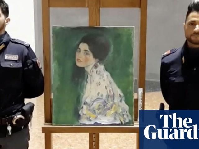 Painting found hidden in Italian gallery wall may be stolen Klimt