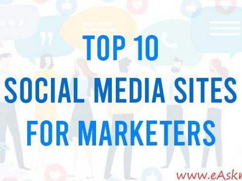 Top 10 Social Media Sites for Marketers