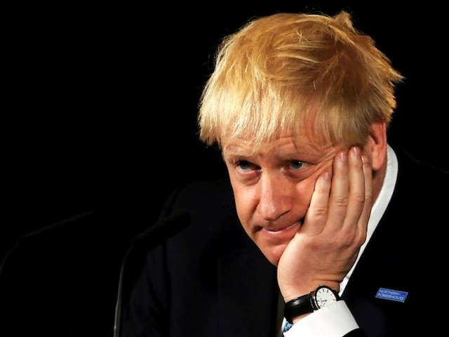 The pound just plunged to a 2-year low after Boris Johnson threatened a general election, fanning fears of more Brexit chaos