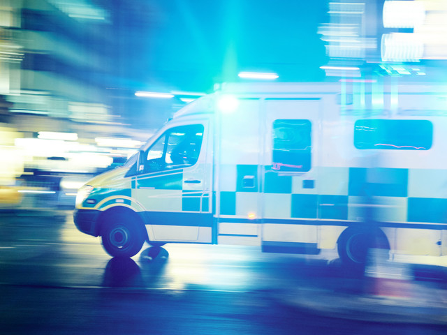 Ontario Ambulance Hijacker Leads Police On High-Speed Overnight Chase
