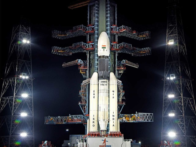 India's Second Moon mission launches