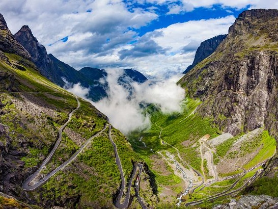 20 Heart-Stopping Roads to Drive Around the World