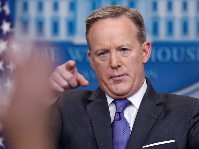 TIMELINE: Sean Spicer's most memorable moments as White House press secretary
