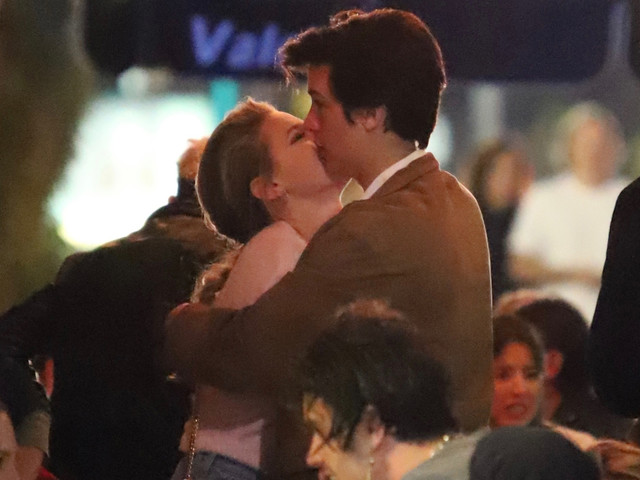 Lili Reinhart & Cole Sprouse Embrace During Echo Park Date Night