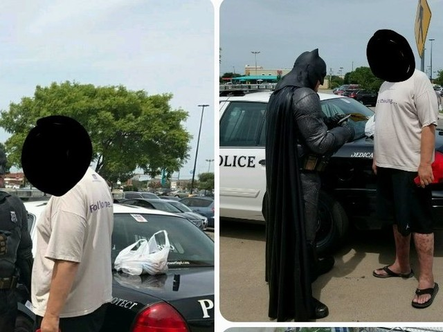Cop Dressed As Batman Stops Walmart Shoplifter With Copy Of 'The LEGO Batman Movie'
