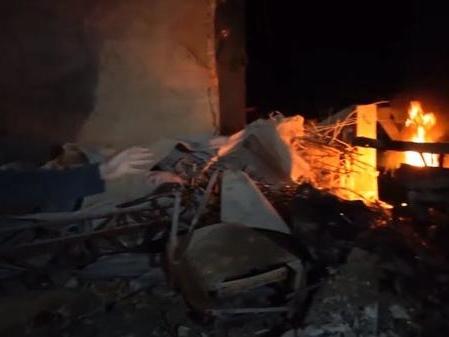 Russian Warplanes Rain Hell On Idlib