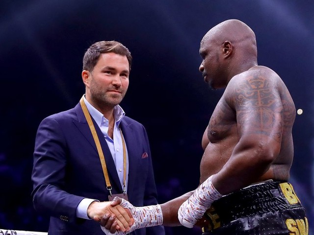Eddie Hearn open to Whyte vs. Ngannou crossover fight