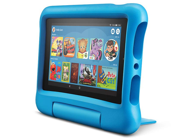 Amazon's Fire 7 Kids Edition tablet with kid-proof case is down to $60 ($40 off)