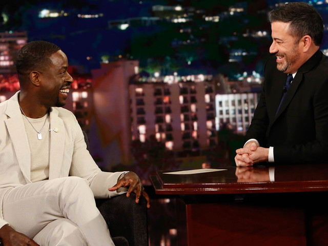 Sterling K. Brown Teases His 'Frozen 2' Character on 'Kimmel'!