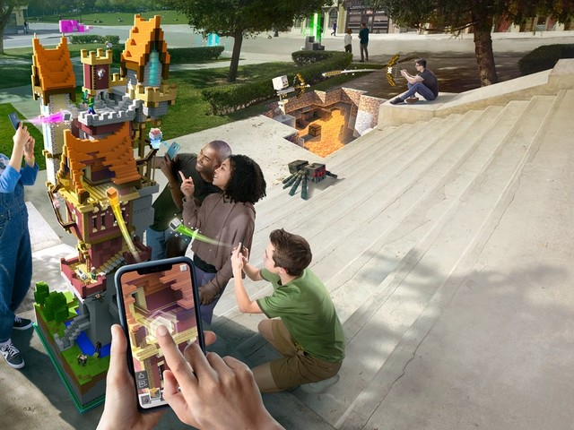 Minecraft Earth Early Access Launches on iOS in the United States