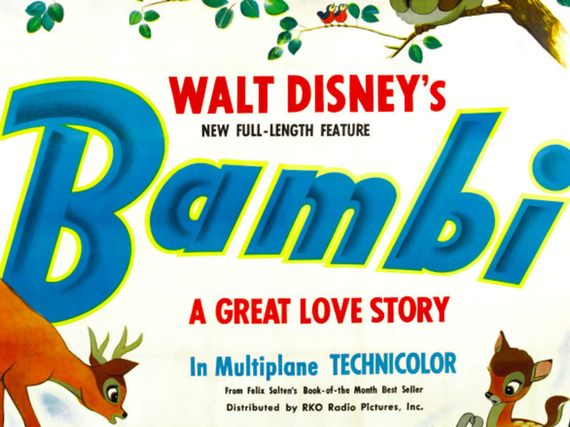 Disney Is Working on a Live-Action 'Bambi' Remake