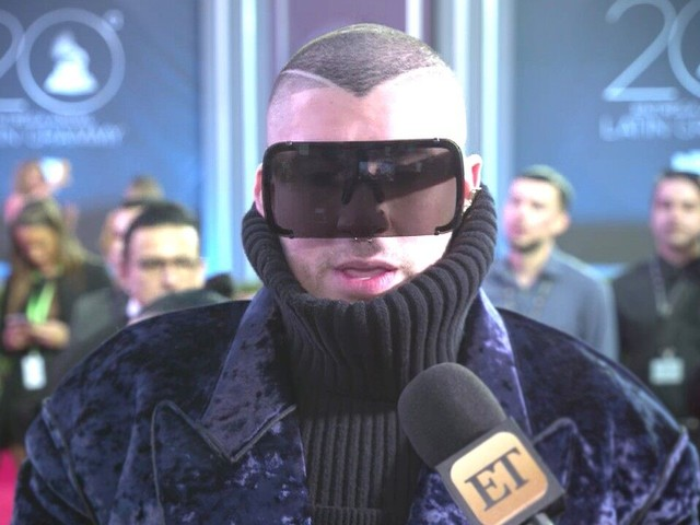 Bad Bunny Honored to Represent Reggaeton at Latin GRAMMY Awards (Exclusive)