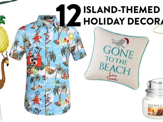 12 Island-themed Holiday Decorations