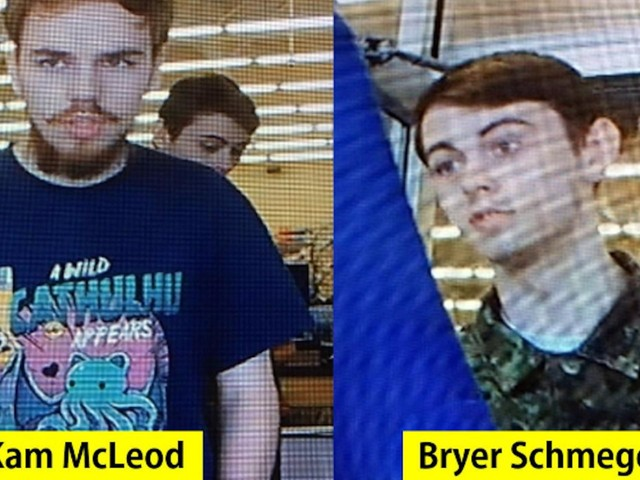The 2 Canadian teen fugitives were searched at an alcohol checkpoint the day they were charged with murder, but were let go by authorities