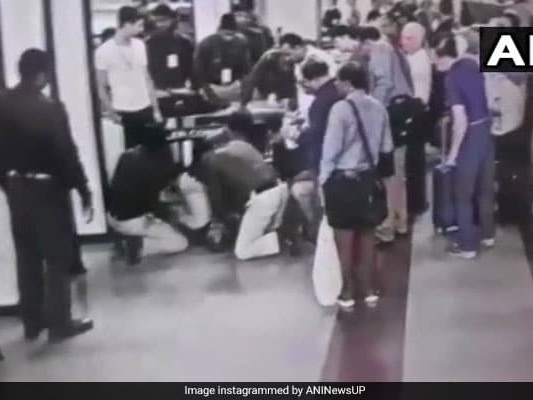 Passenger Suffers Cardiac Arrest At Airport, Officer Saves Him With CPR
