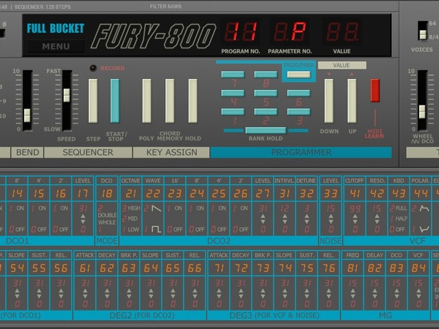Free 80s injection: KORG Poly-800 emulated in plug-in for Mac, Windows
