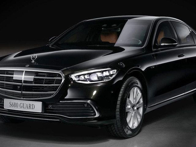 The New Mercedes S 680 Guard 4MATIC Is A Luxurious Armored Vehicle