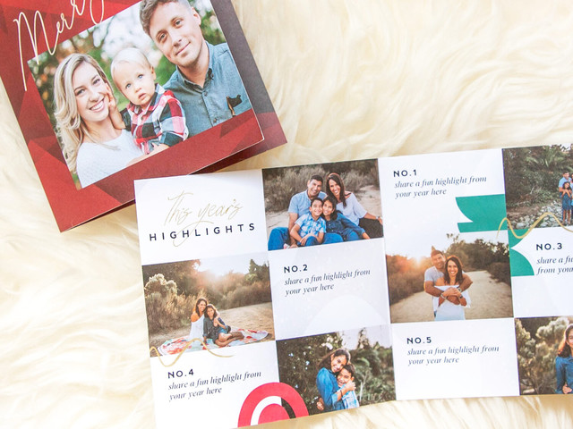 How to Make a Great Year-In-Review Holiday Card