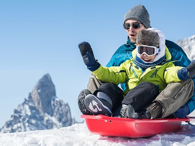 The best snow sleds
