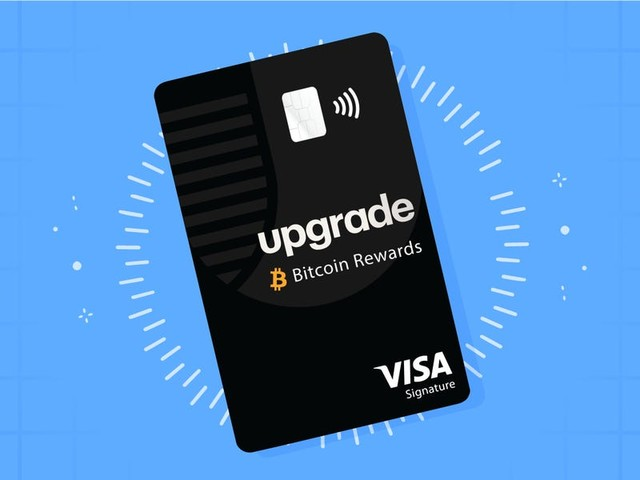 The new Upgrade Bitcoin Rewards Card pays 1.5% back in bitcoin with no annual fee, and anyone can apply