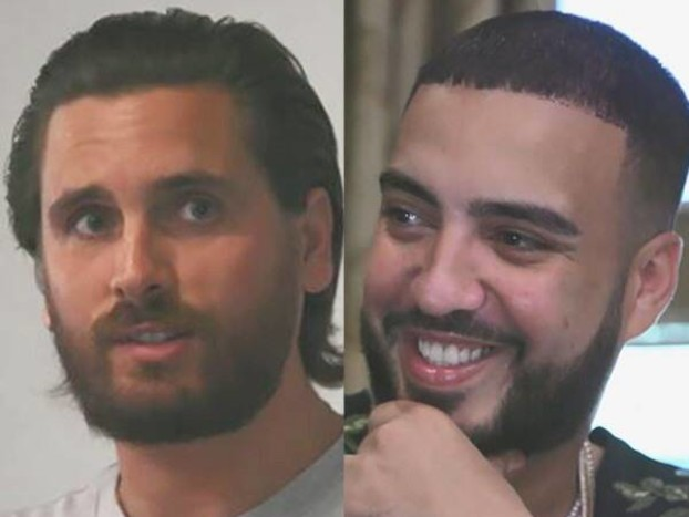 """Scott Disick Wants to Redesign French Montana's Home Theater Into a """"Full-Blown Jungle"""""""