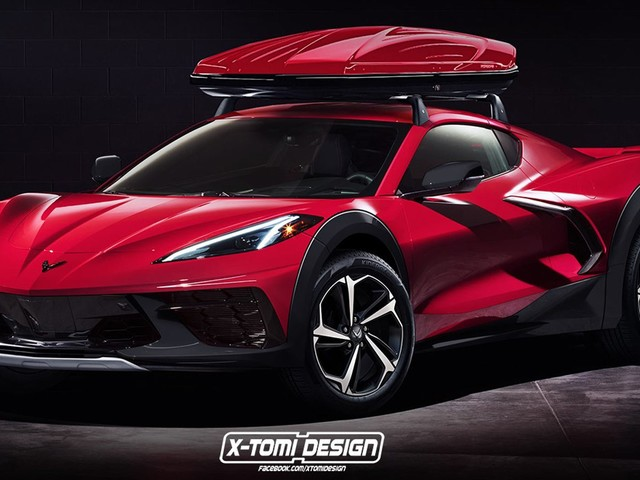 We Can't Wait For Someone To Build A C8 Corvette 4×4