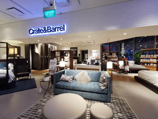 How to Request CRATE & BARREL Furniture Catalog