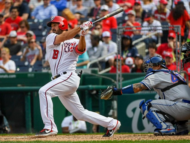 Nationals recall Jake Noll as Anthony Rendon continues to recover from left elbow contusion