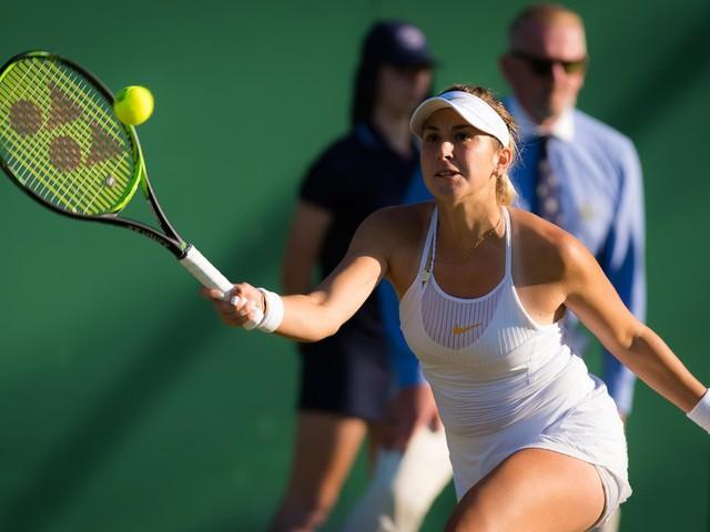 Alison Riske Battles Past Belinda Bencic at Wimbledon Championships 2019
