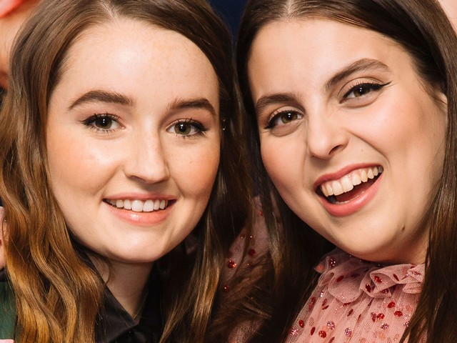 "Booksmart's Beanie Feldstein & Kaitlyn Dever Play ""Who's Most Likely To...?"""