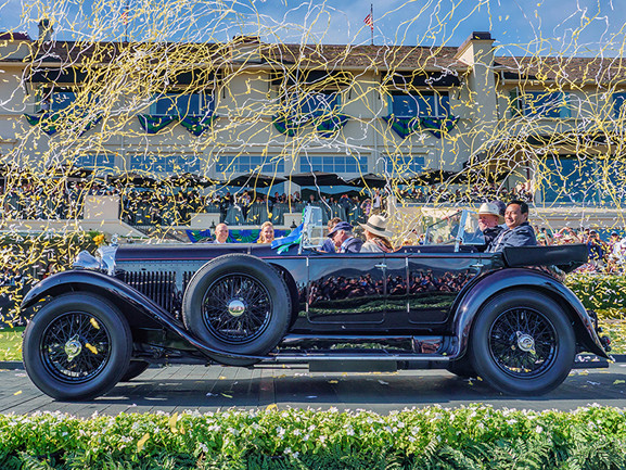 1931 Bentley 8-Litre takes home top honor at the 2019 Pebble Beach Concours d'Elegance