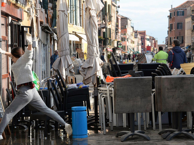 Italian PM: Govt set to declare state of emergency in Venice