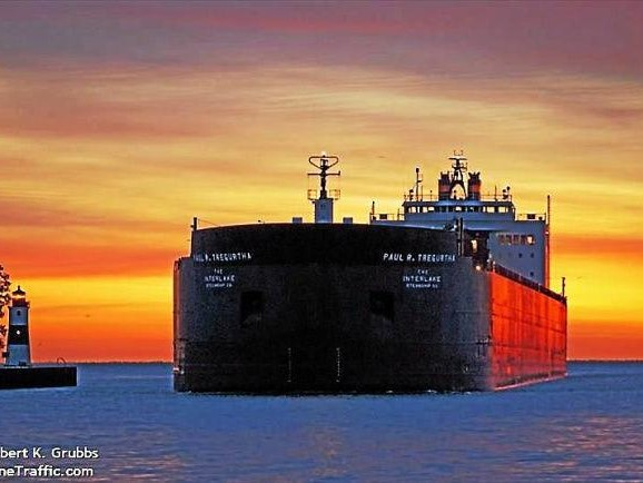 International Cargo On US Great Lakes Plunges 7%