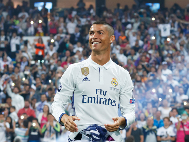 Cristiano Ronaldo talks intense Real Madrid training, winning the Champions League, and designing jeans for athletic guys