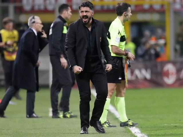 Milan coach Gattuso avoids ban for derby match against Inter