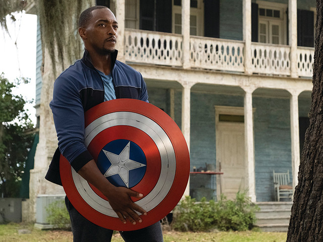 'Falcon and the Winter Soldier' Star Anthony Mackie Reveals 'Make America Great Again' Comment Was 'Shot Down' From Season Finale