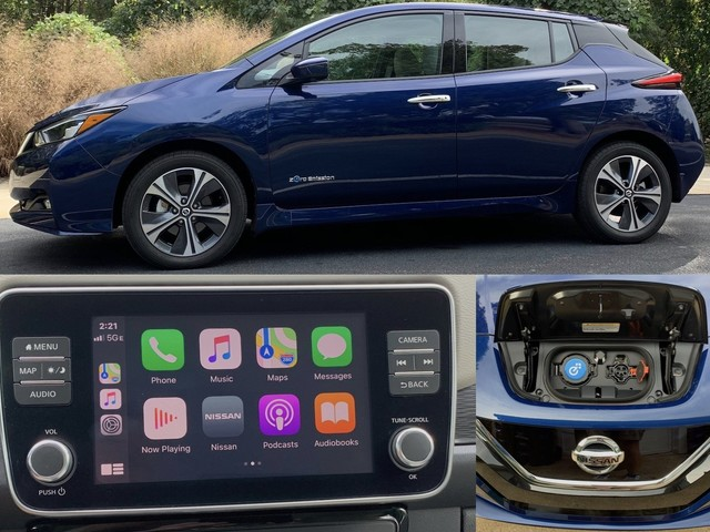 Review: 2019 Nissan Leaf Plus Brings a Bigger Battery to the Popular CarPlay-Equipped EV