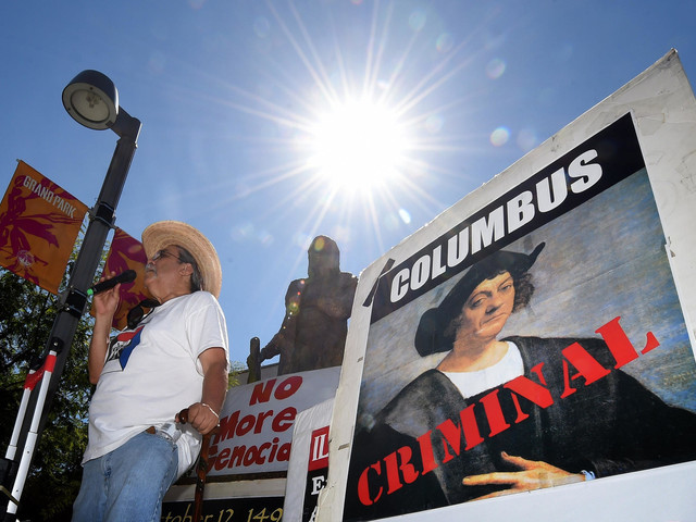 In formal vote, L.A. replaces Columbus Day with Indigenous Peoples Day