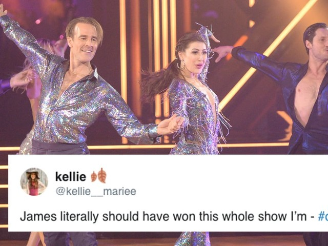 DWTS: James Van Der Beek's Shocking Elimination Has Fans Scratching Their Heads