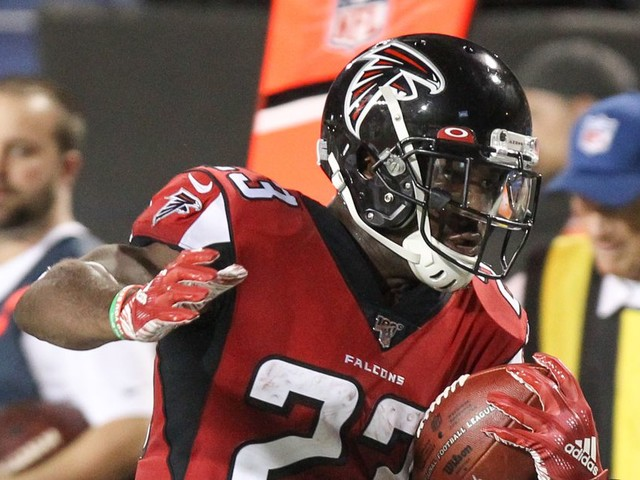The Falcons need to give Brian Hill the ball and let him work