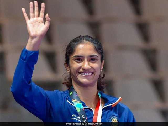 Vinesh Phogat First Indian To Be Nominated For Laureus Awards