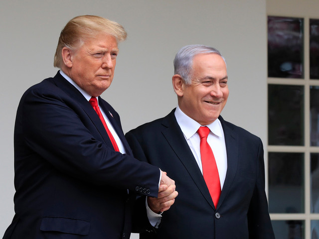Trump invites Netanyahu and rival Gantz to White House for Middle East peace talks