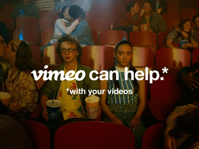 Video site Vimeo launches a new ad campaign and it pokes a little fun at YouTube