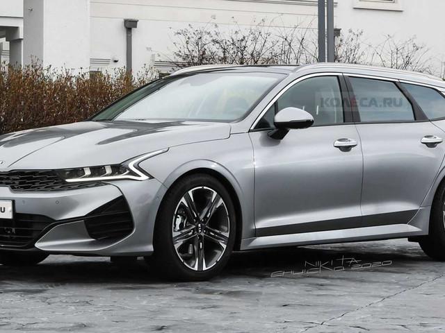 New 2021 Kia Optima (K5) Looks Seductive As A Sports Wagon