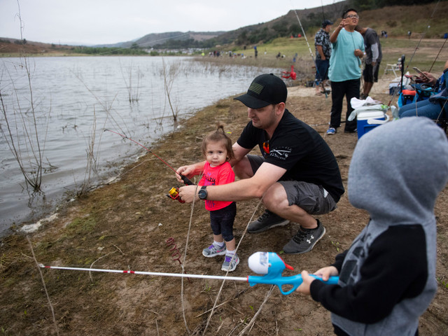 Trout fishing opens Friday at freshly stocked Irvine Lake