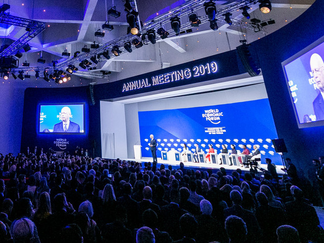 Hoping to Shape the Conversation at Davos